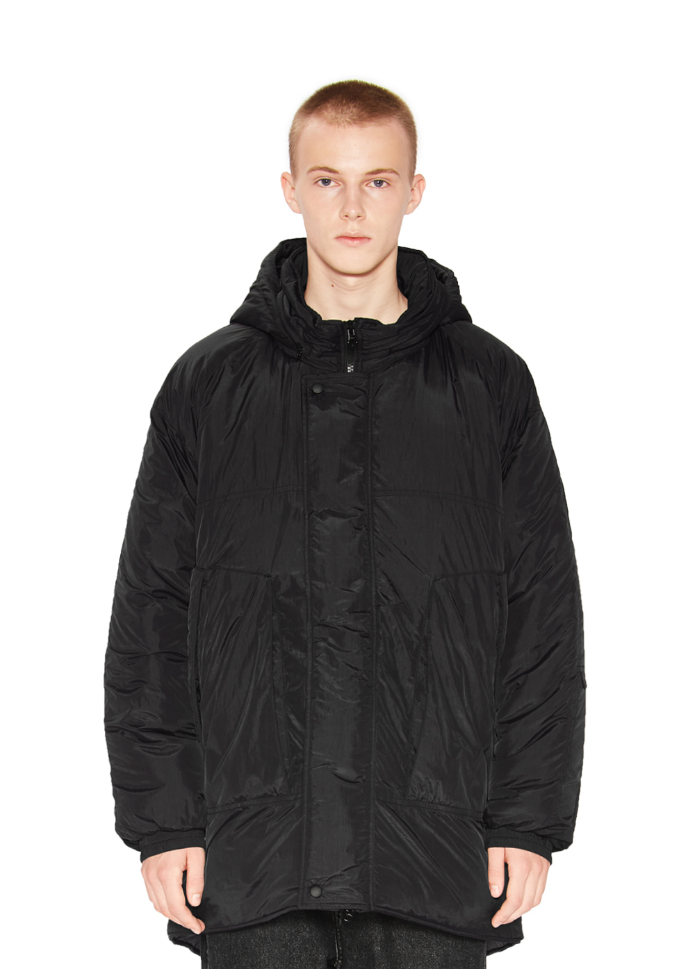 MONSTER PADDED PARKA black