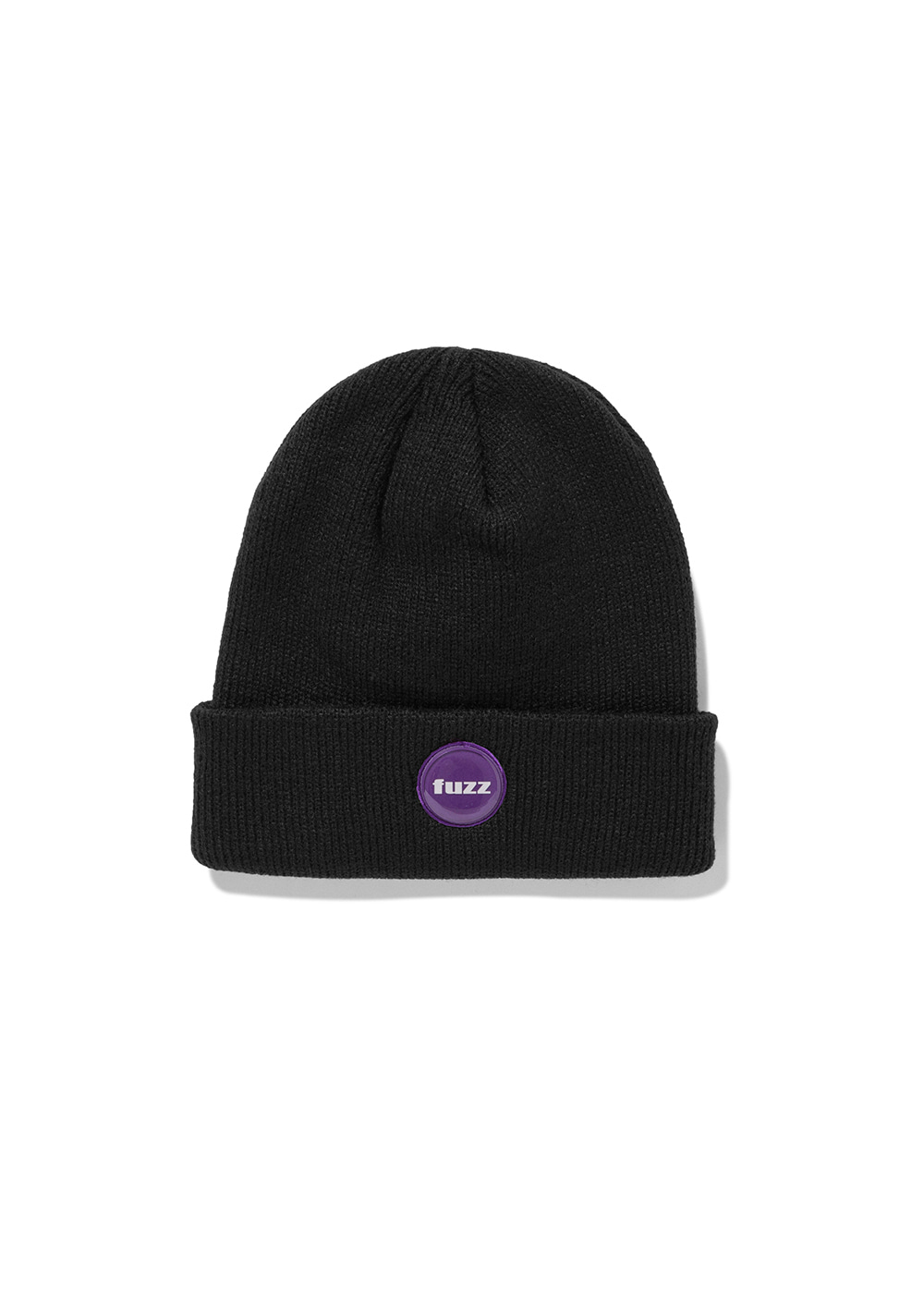 FUZZ EPOXY LABEL BEANIE black