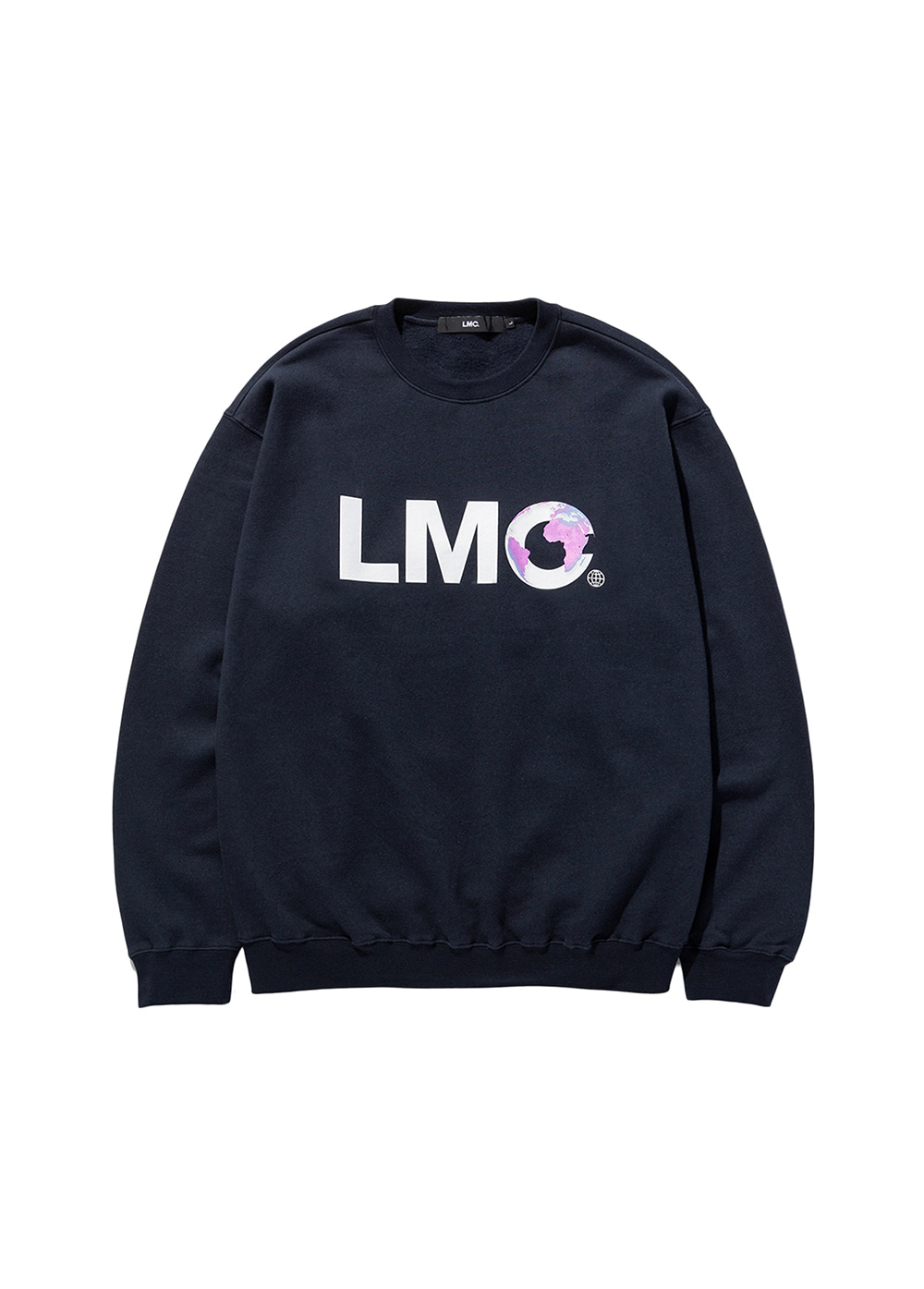 LMC EARTH LOGO SWEATSHIRT navy