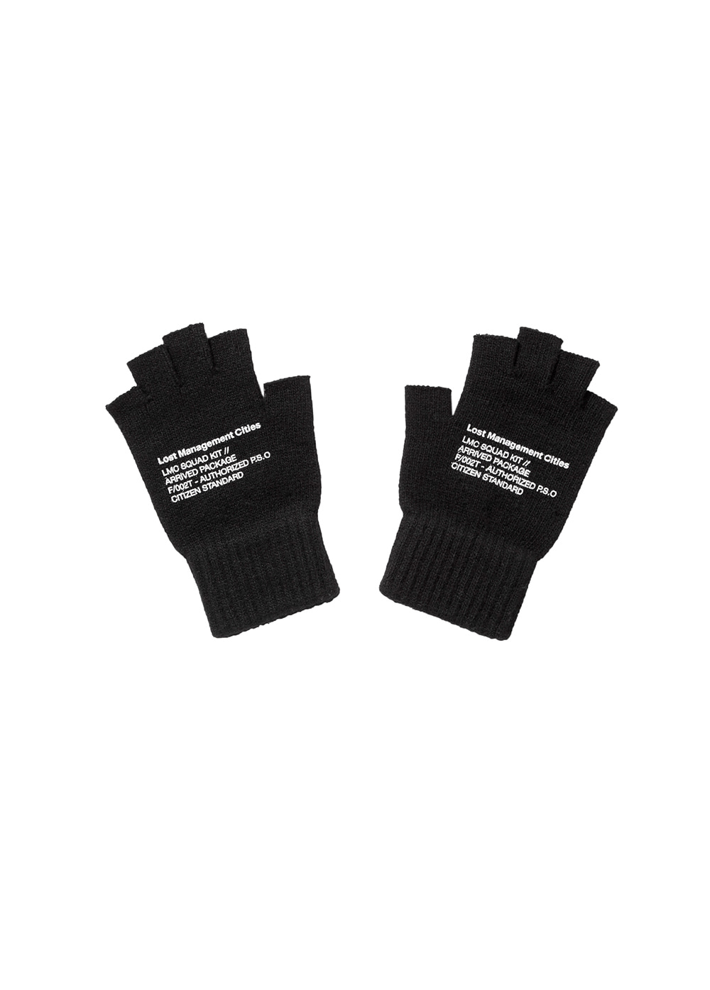 LMC MIL FINGERLESS GLOVE black