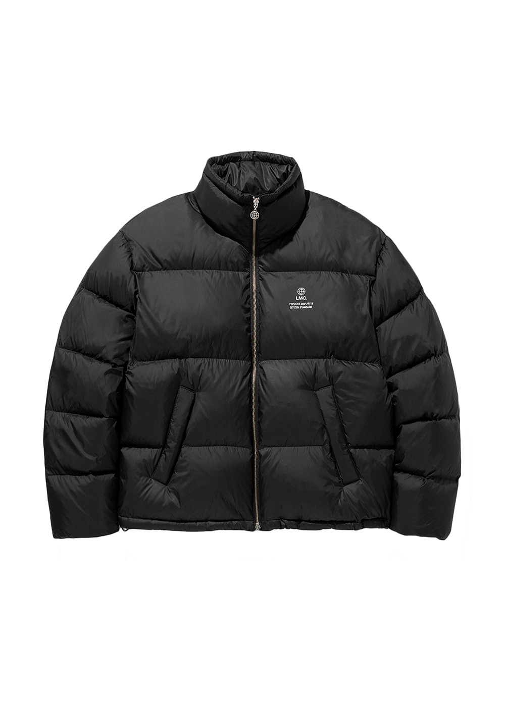 LMC GLOBE SHORT DOWN PARKA black