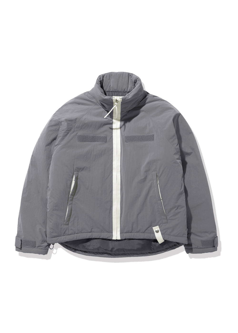 FUZZ LEVEL7 SHORT PARKA gray