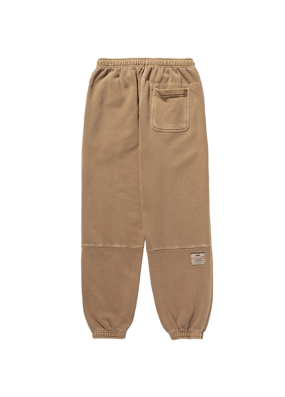LMC LABEL SWEAT PANTS dk brown