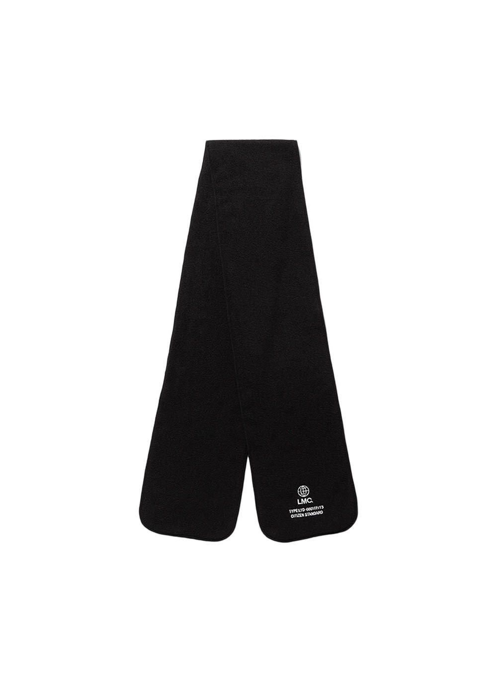 LMC GLOBE FLEECE MUFFLER black