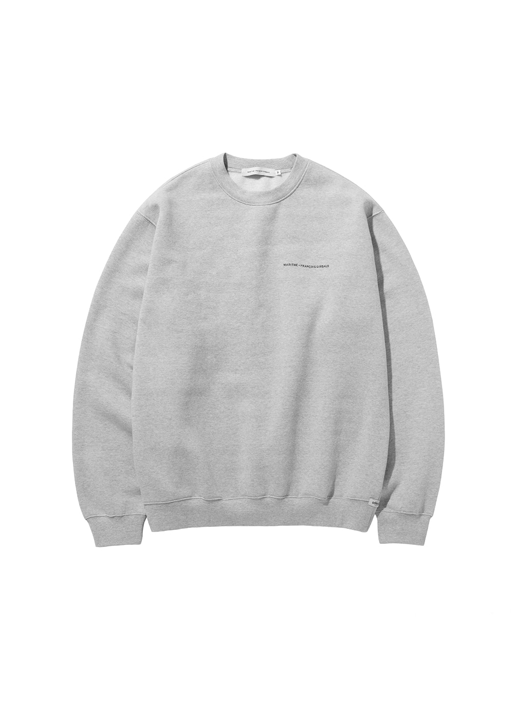 MFG NAME LOGO SWEATSHIRT heather gray