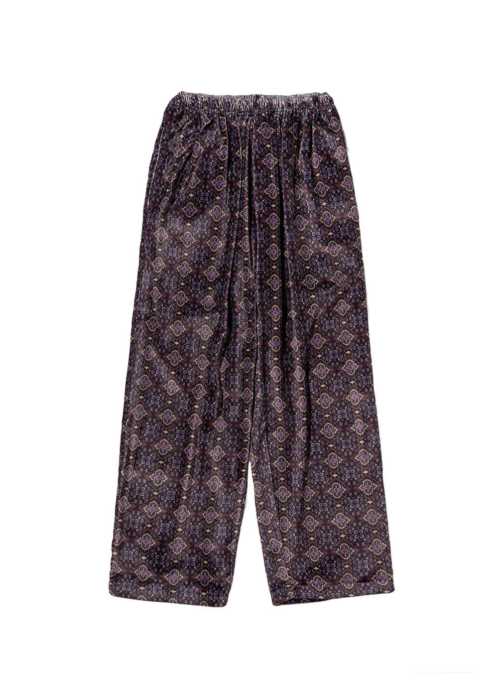 LMC ARABIC VELOUR EASY PANTS purple
