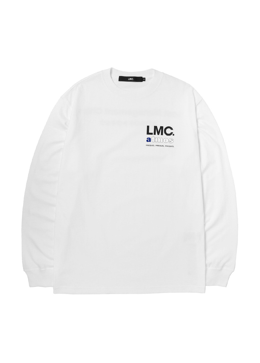 LMC x ATMOS PREQUEL LONG SLV TEE white