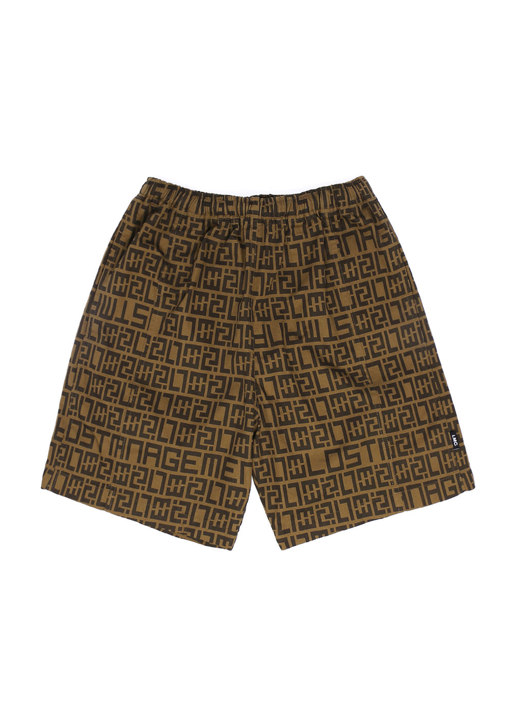 LMC LUX PTTN SHORTS brown