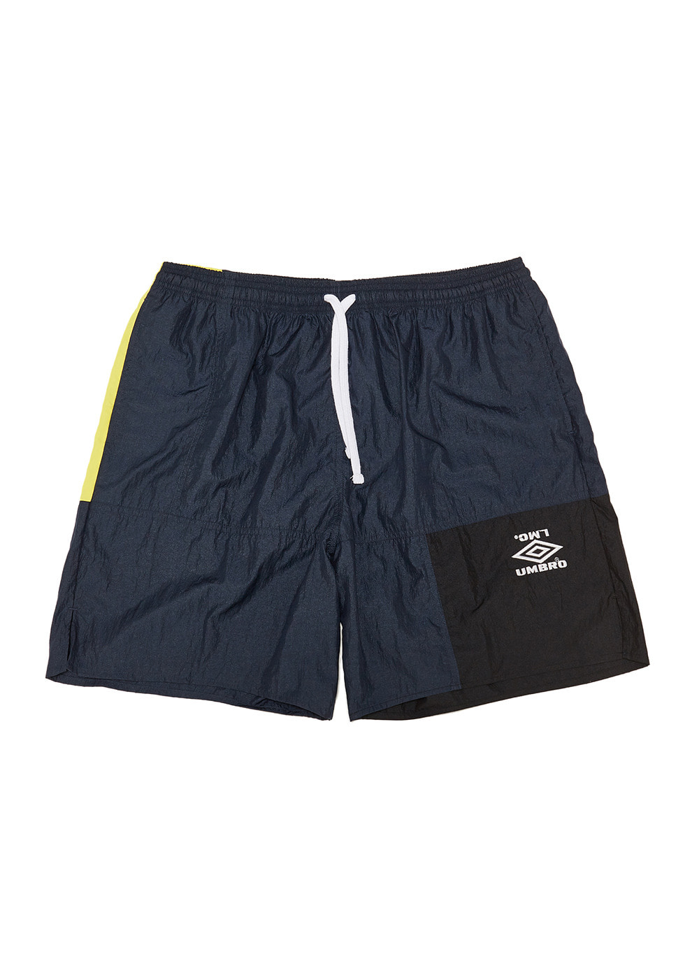UMB X LMC RETRO SHORTS navy