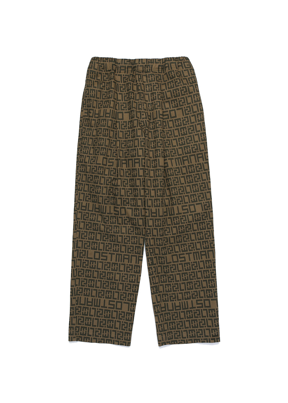 LMC LUX PTTN PANTS brown