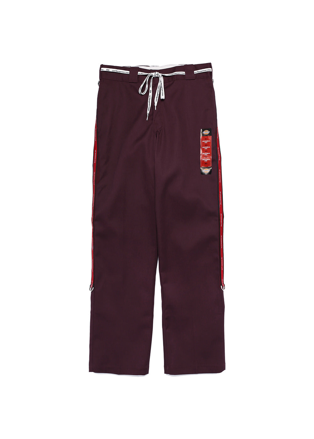 RMK LOGO TAPED DICKIES 874 maroon