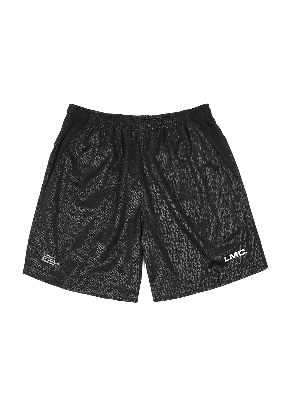 SOCCER JERSEY SHORTS black