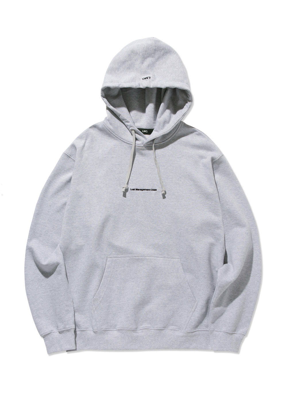 LMC SMALL FN EMB HOODIE heather gray