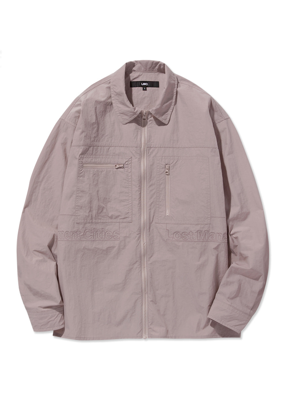 20SS LMC FULL ZIP WORK SHIRT pink