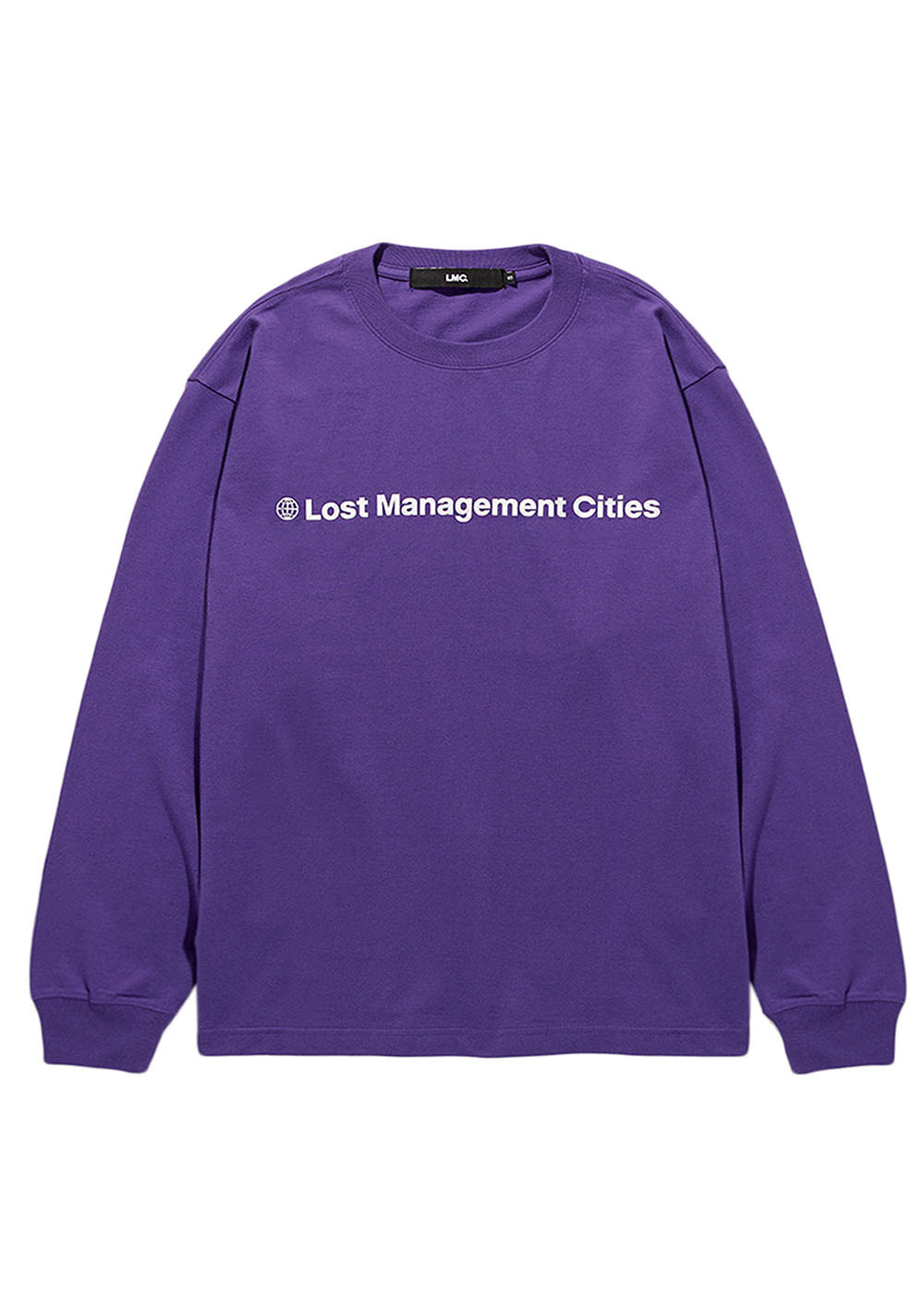 LMC FN OG LONG SLV TEE purple