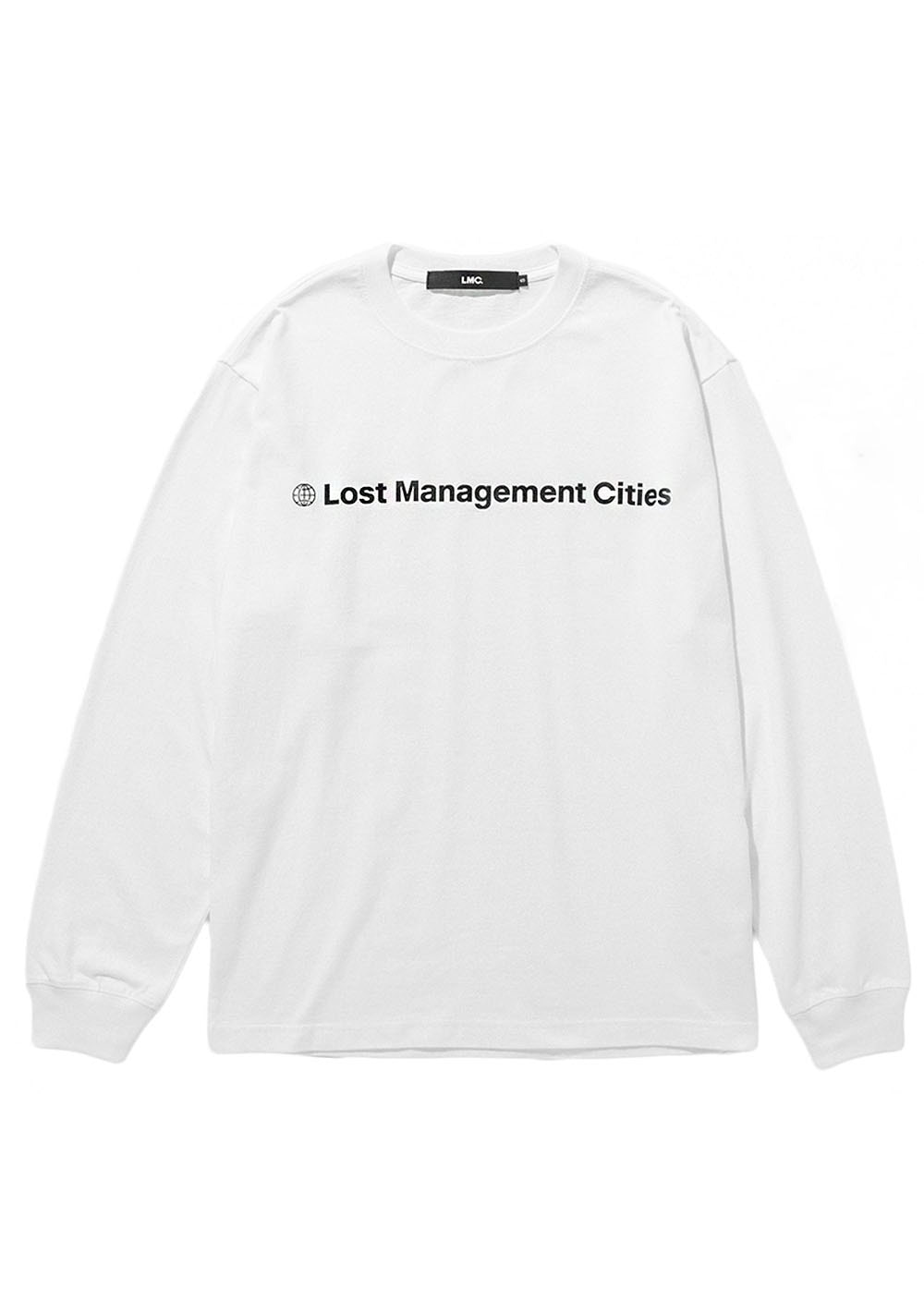 LMC FN OG LONG SLV TEE white