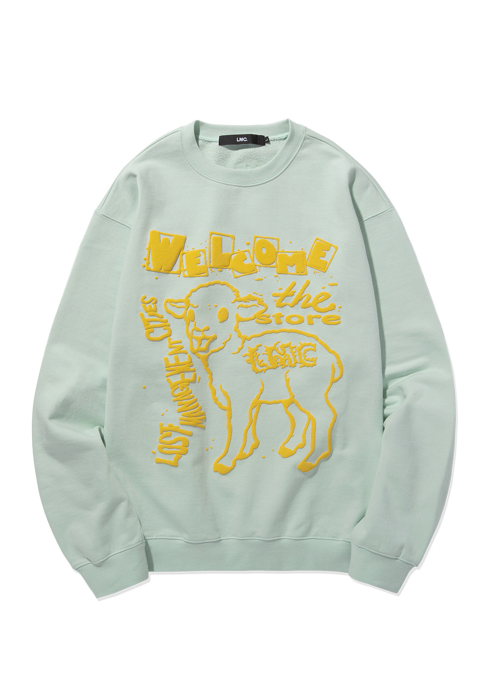 LMC LAMB SWEATSHIRT mint