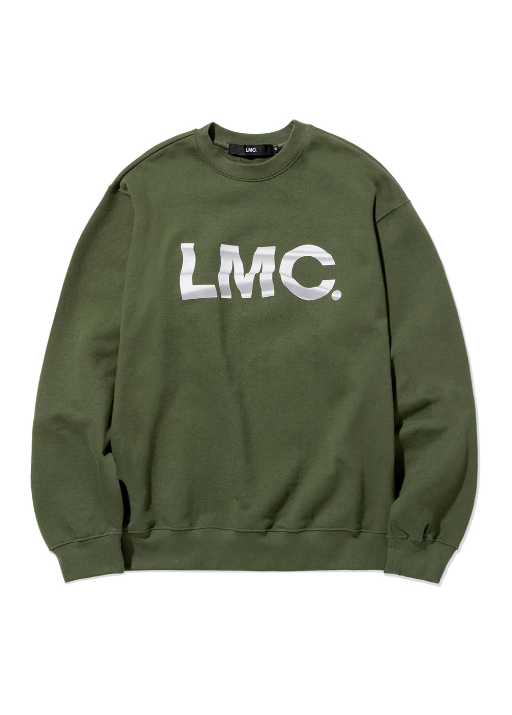 LMC WAVING FLAG SWEATSHIRT olive