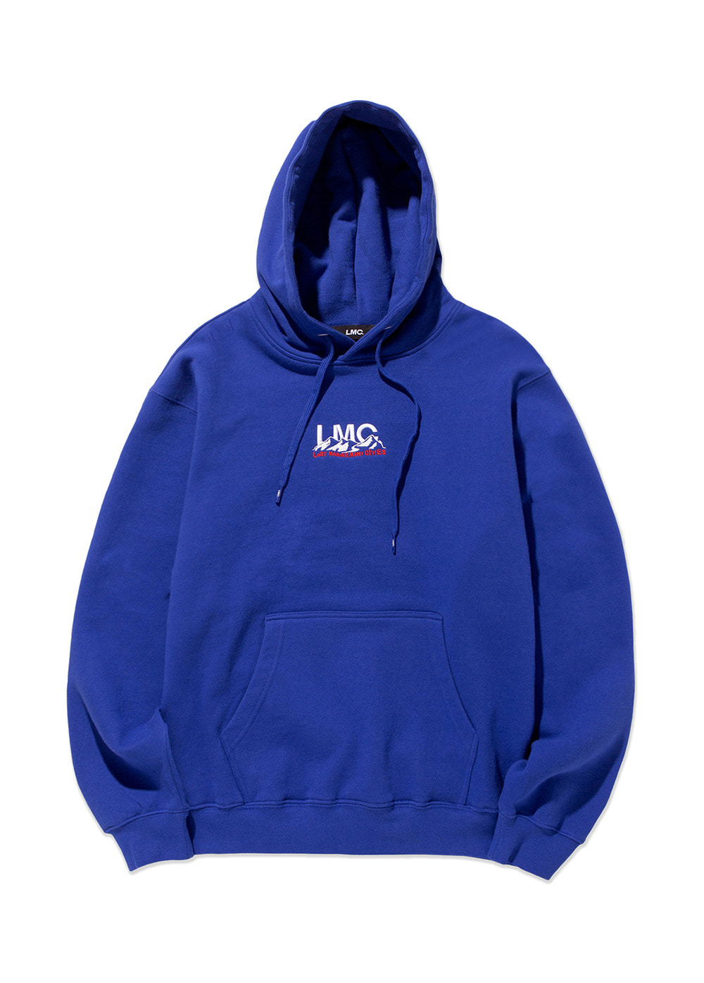LMC MOUNTAIN HOODIE royal blue