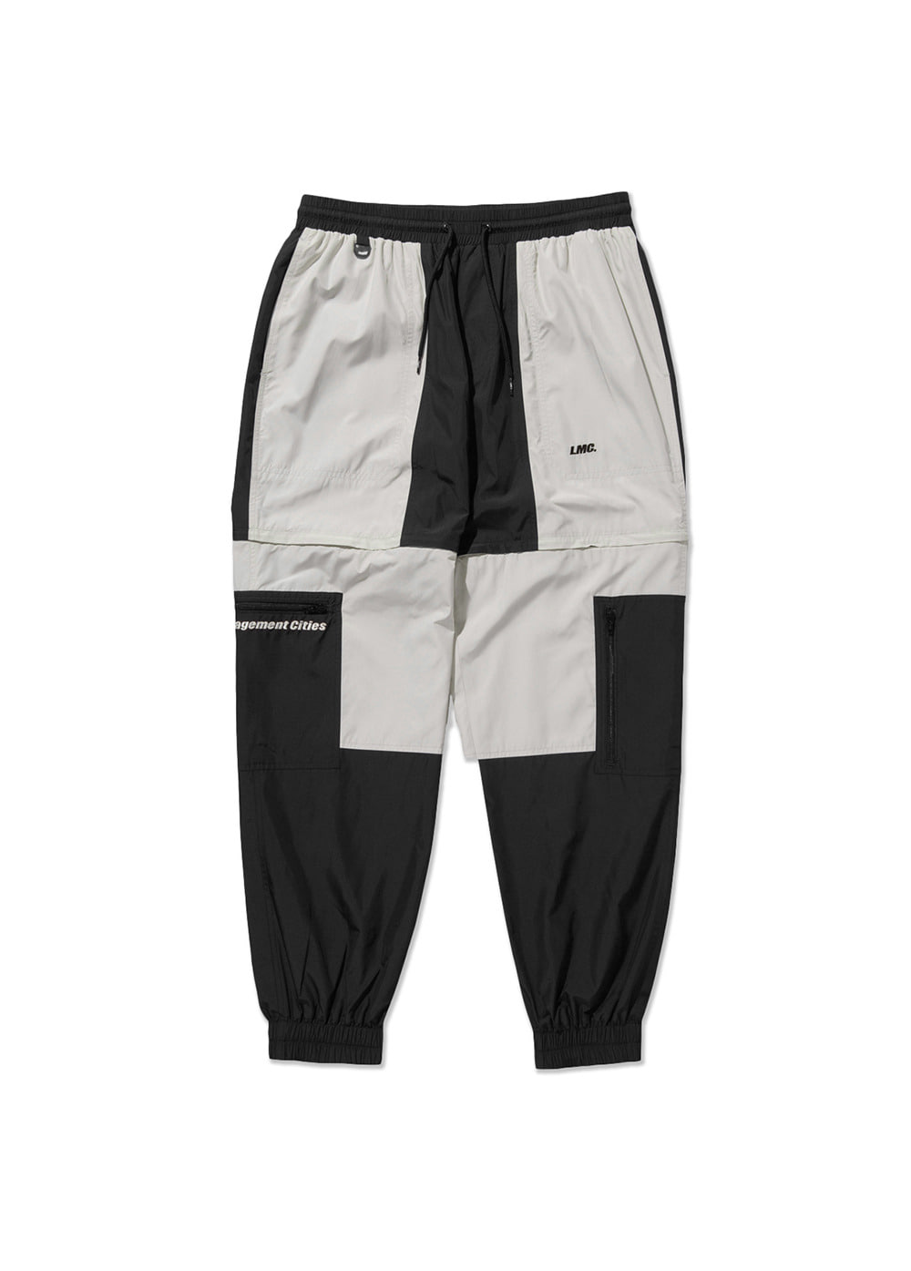 LMC PARACHUTE TRANSFORM PANTS black