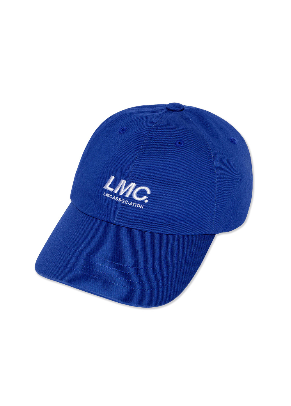 LMC ITALIC ASSOCIATION 6 PANEL CAP royal blue