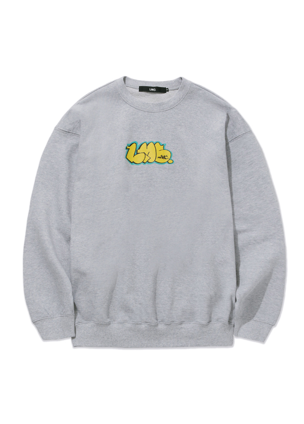 LMC GRAFFITI OG OVERSIZED SWEATSHIRT heather gray