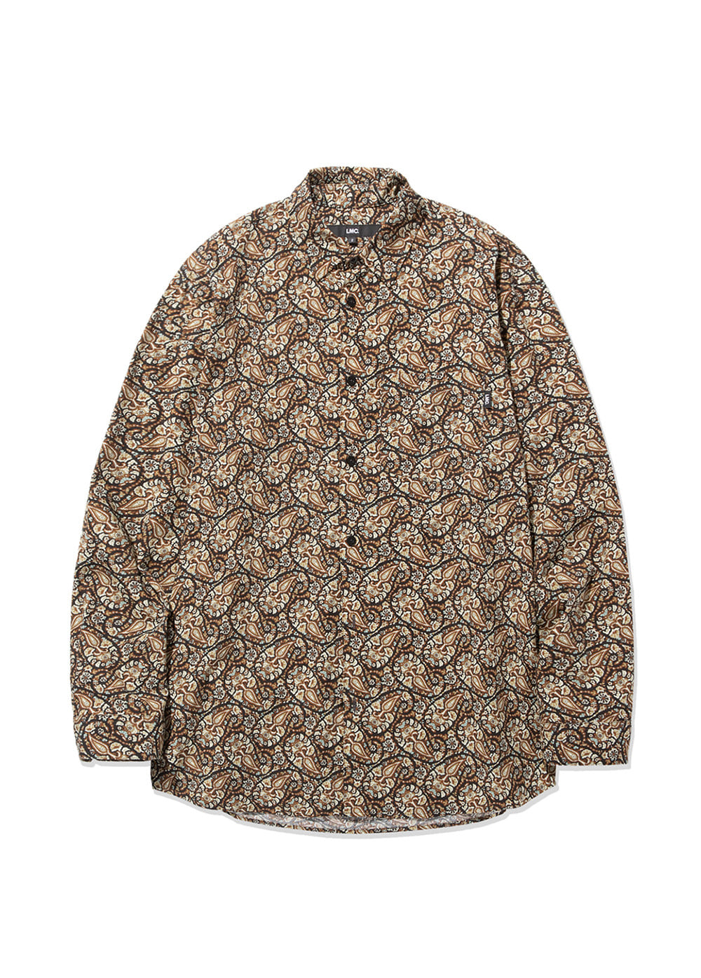 LMC PAISLEY SHIRT brown