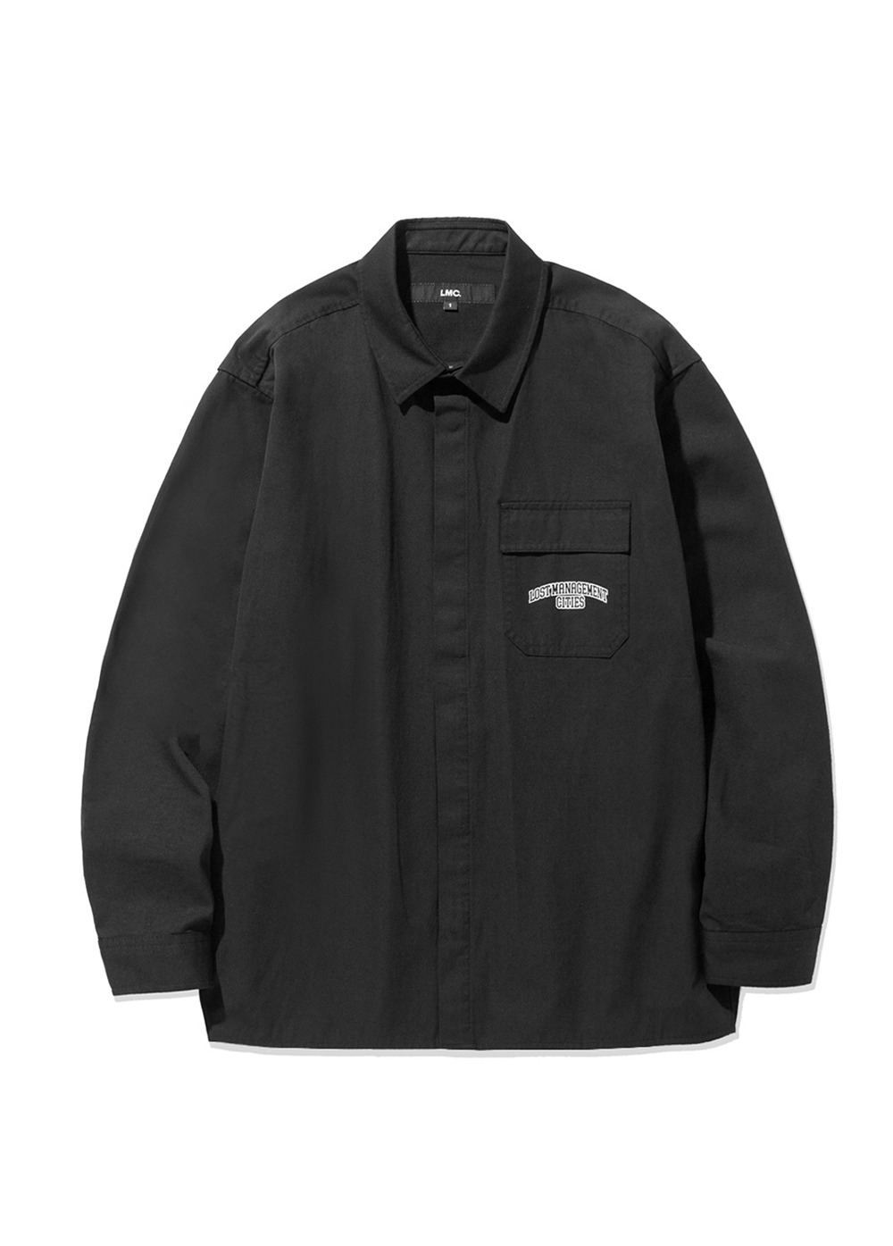 LMC ARCH FN SNAP SHIRT black