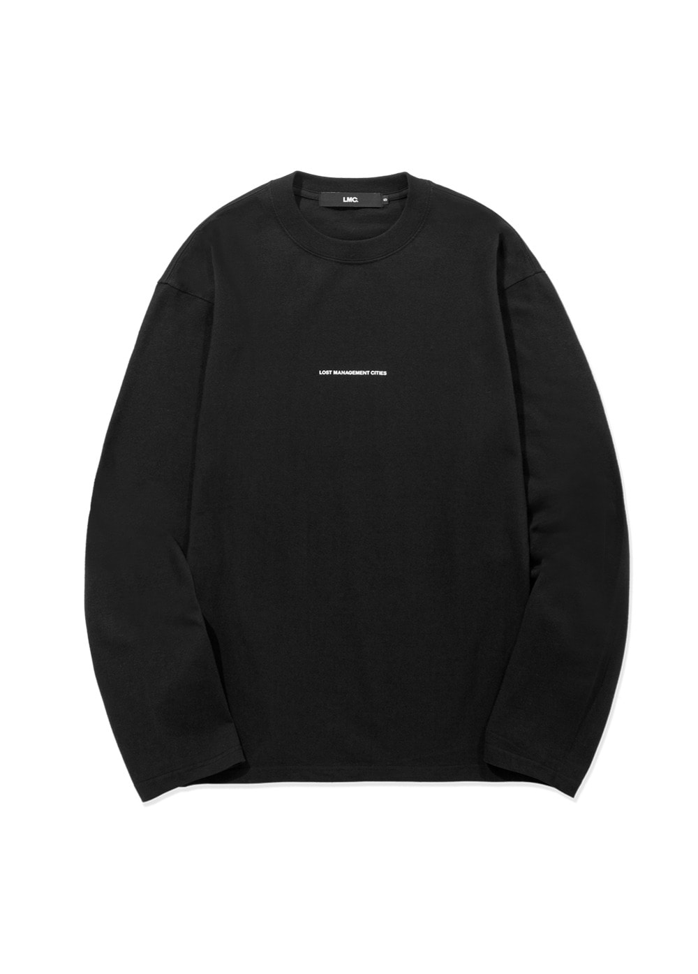 LMC MICRO FN LONG SLV TEE black