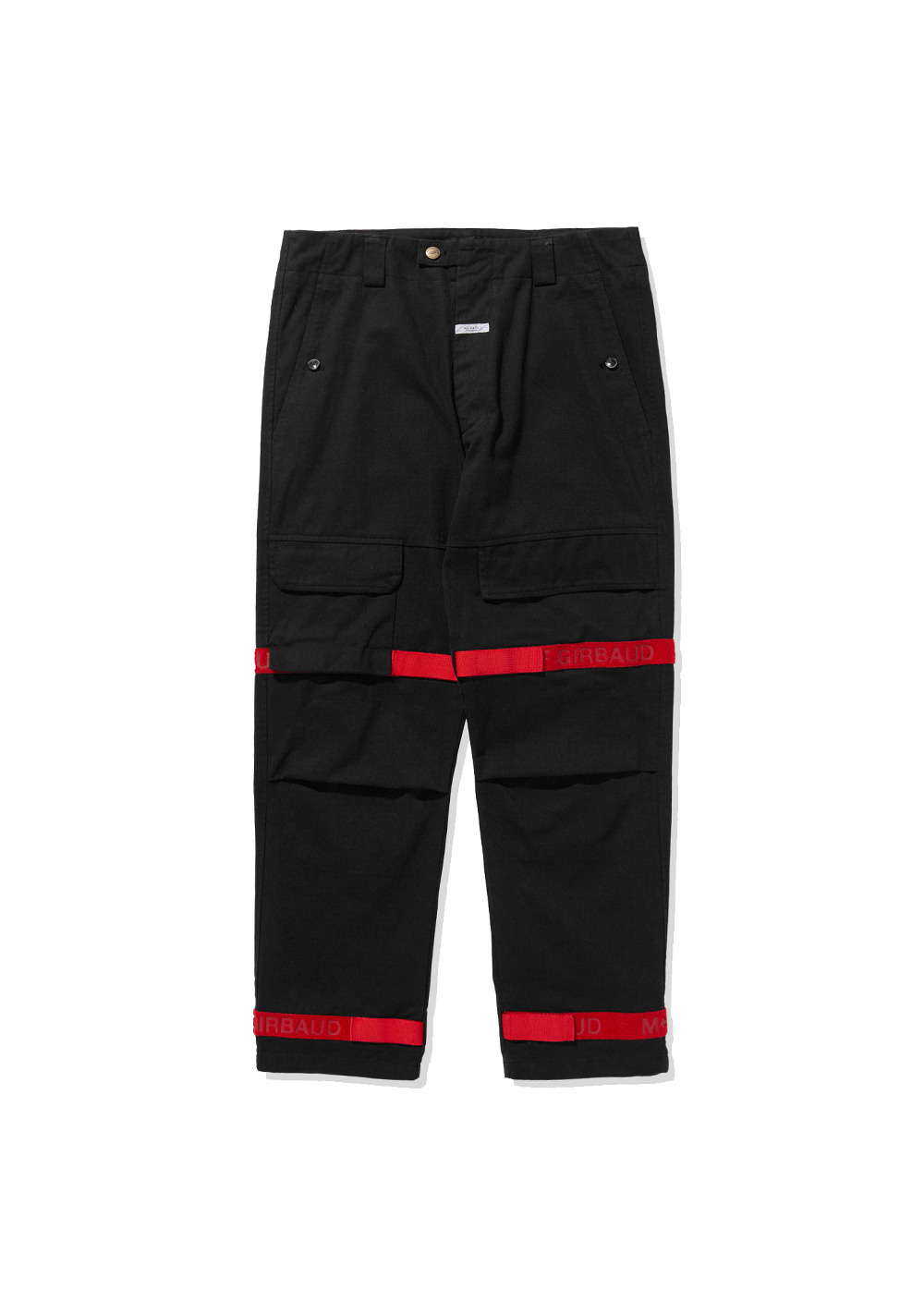 MFG SHUTTLE TAPE PANTS black