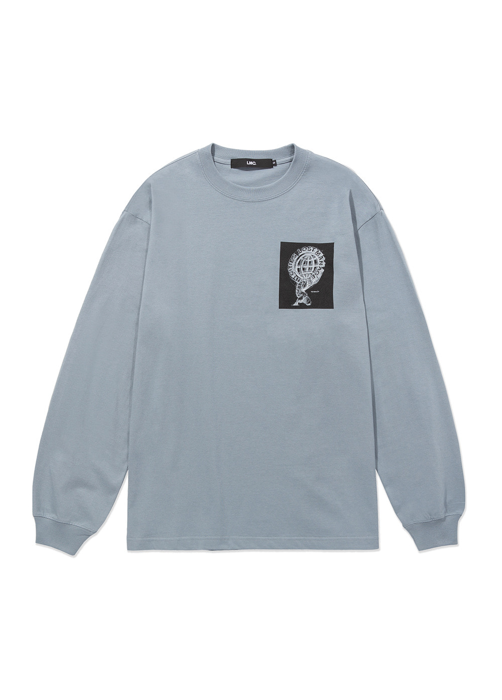 LMC ATLAS LONG SLV TEE gray