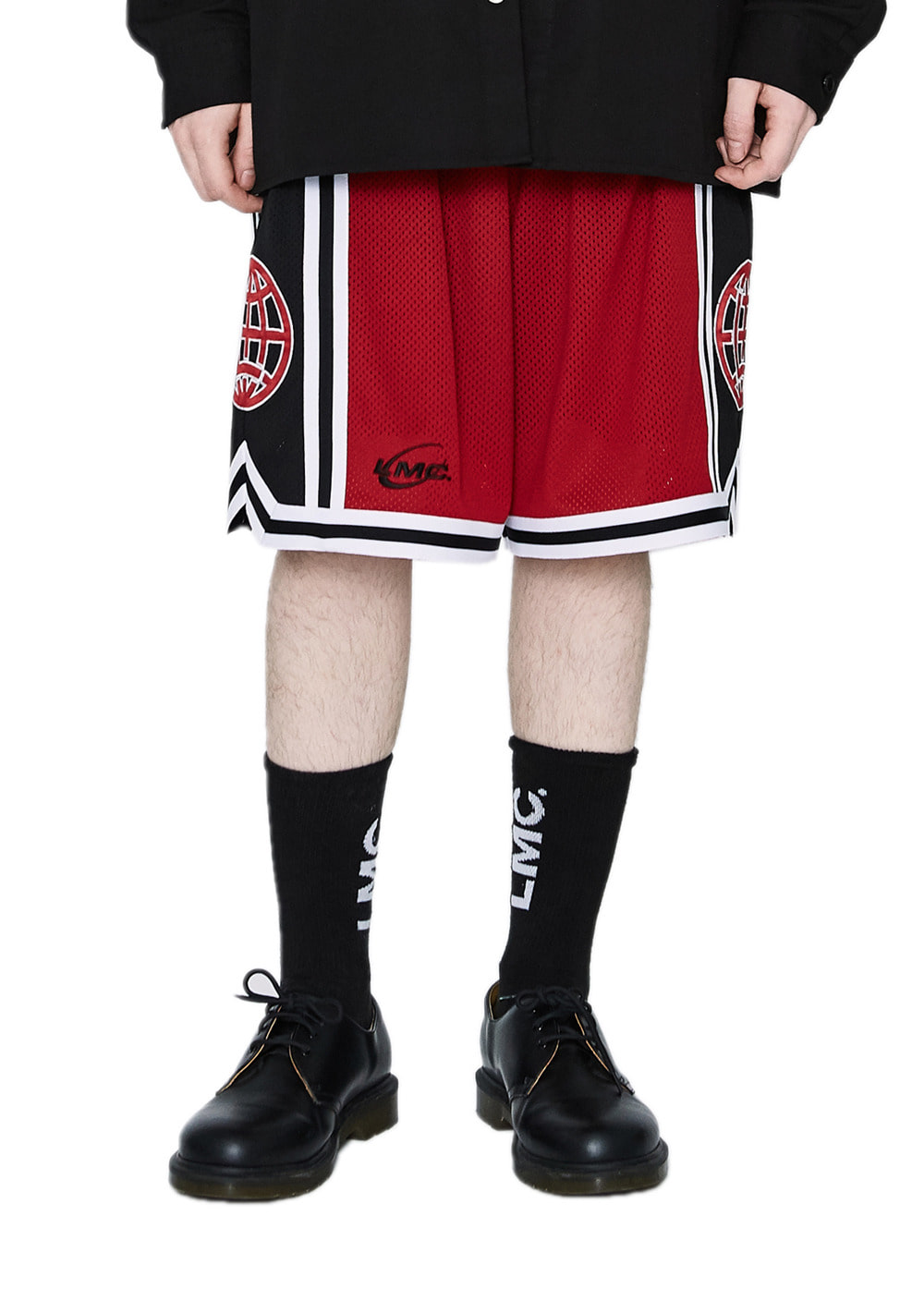 LMC BASKETBALL SHORTS red