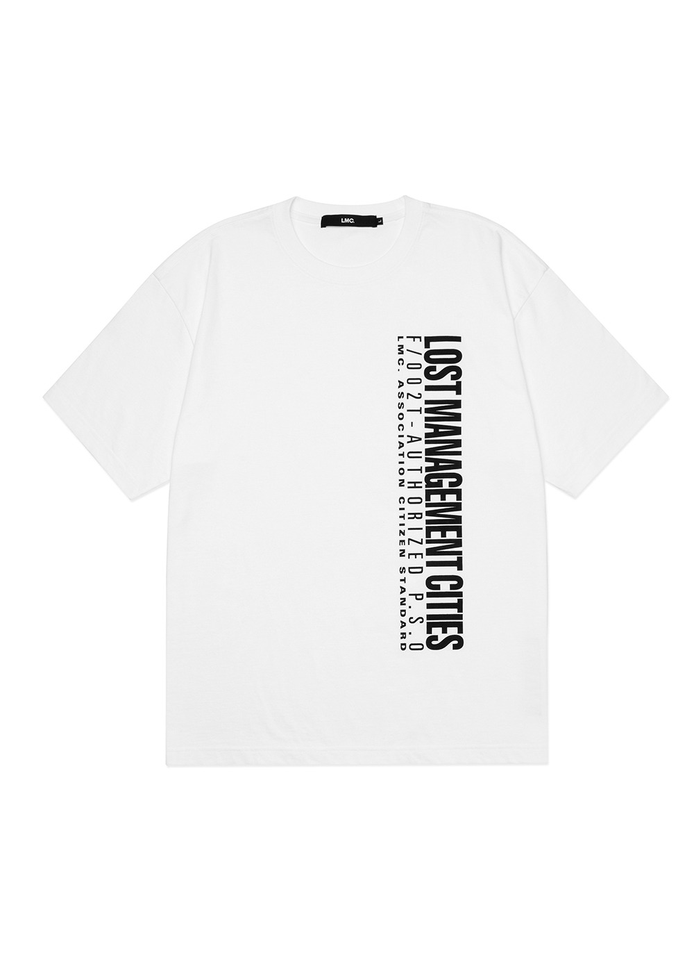 LMC AUTHORIZED LOGO TEE white