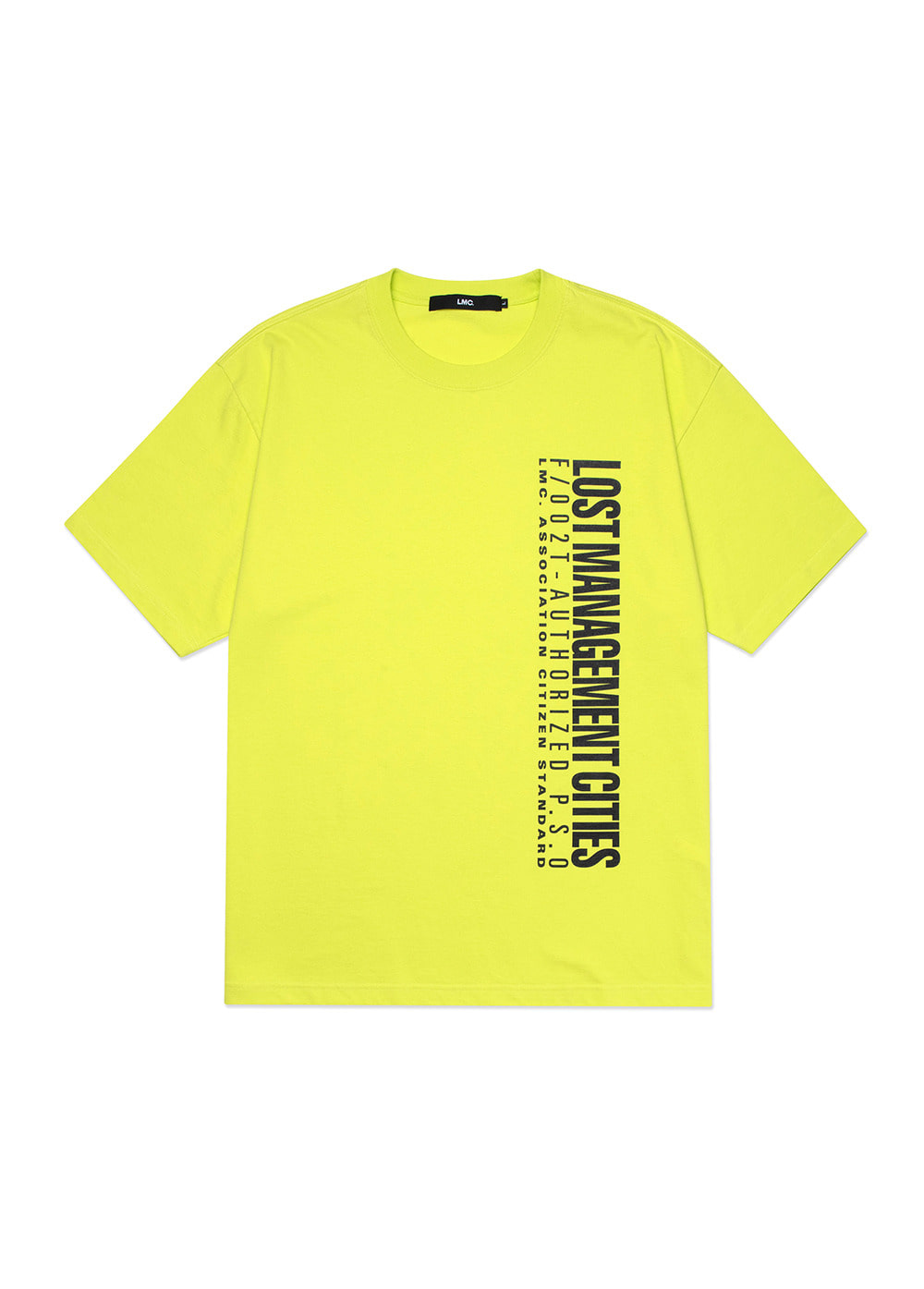 LMC AUTHORIZED LOGO TEE lime