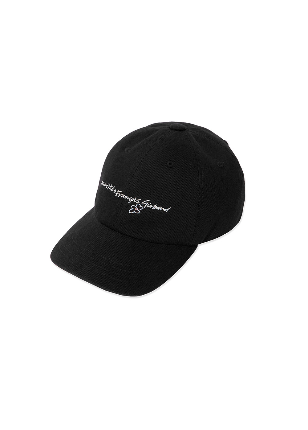 MFG HANDWRITTEN LOGO CAP black