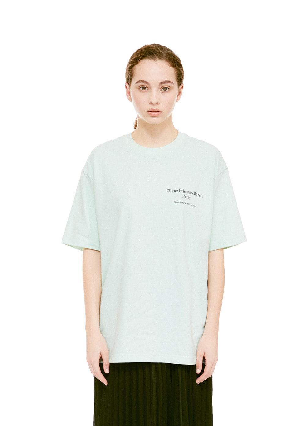 MFG L ADRESSE TEE mint
