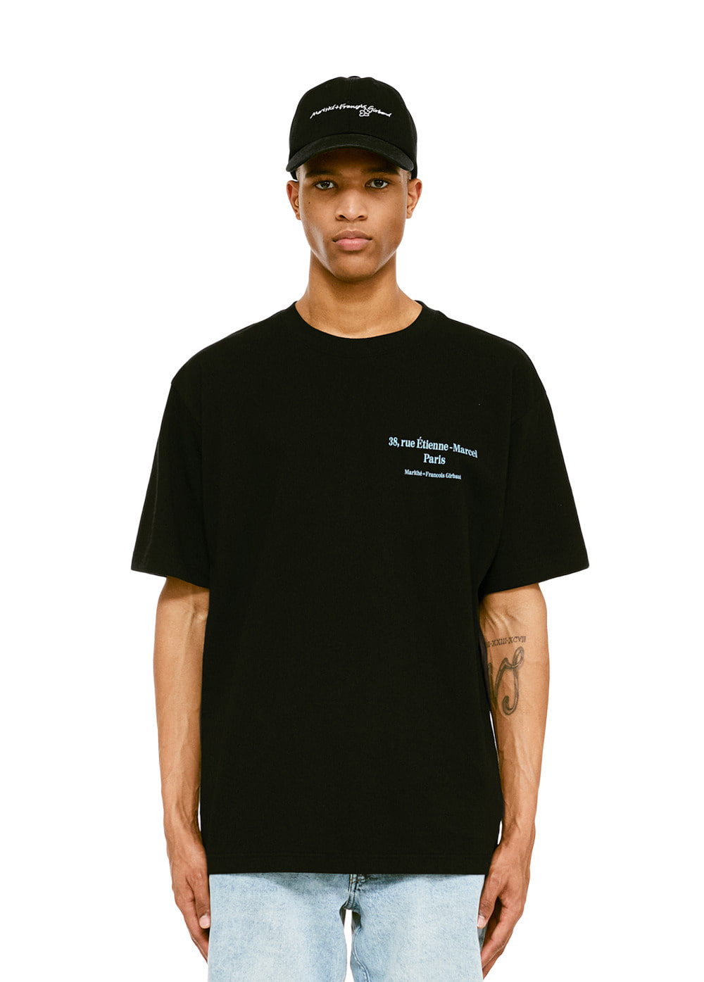 MFG L ADRESSE TEE black