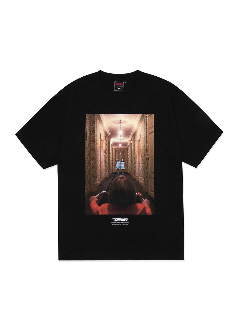 LMC│THE SHINING HALLWAY PHOTO TEE black