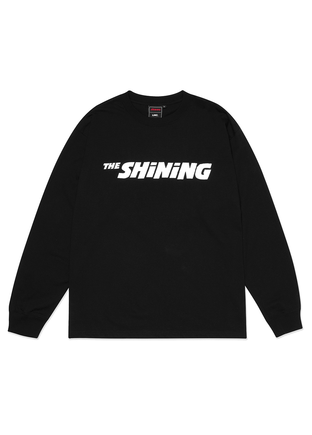 LMC│THE SHINING BASIC LONG SLV TEE black