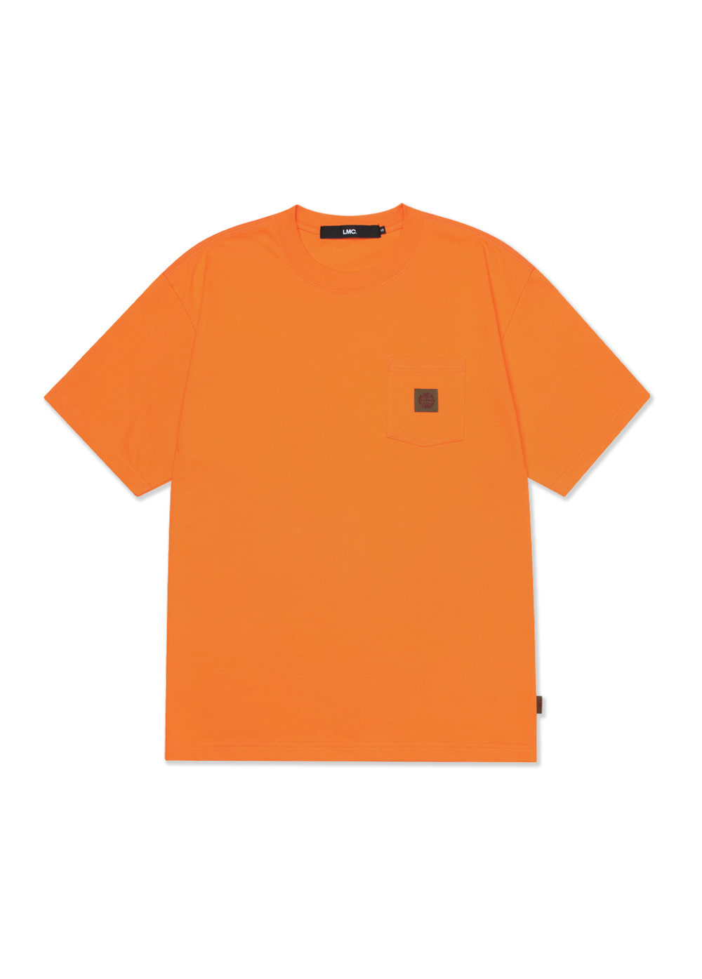 LMC BASIC POCKET TEE orange
