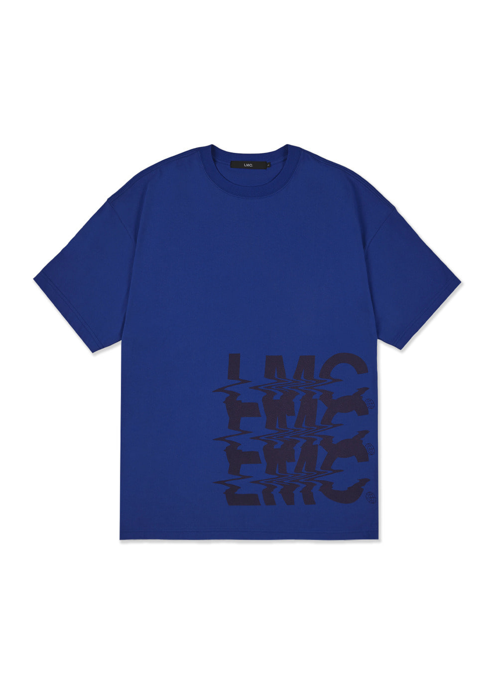 LMC NOISE OVERSIZED TEE royal blue