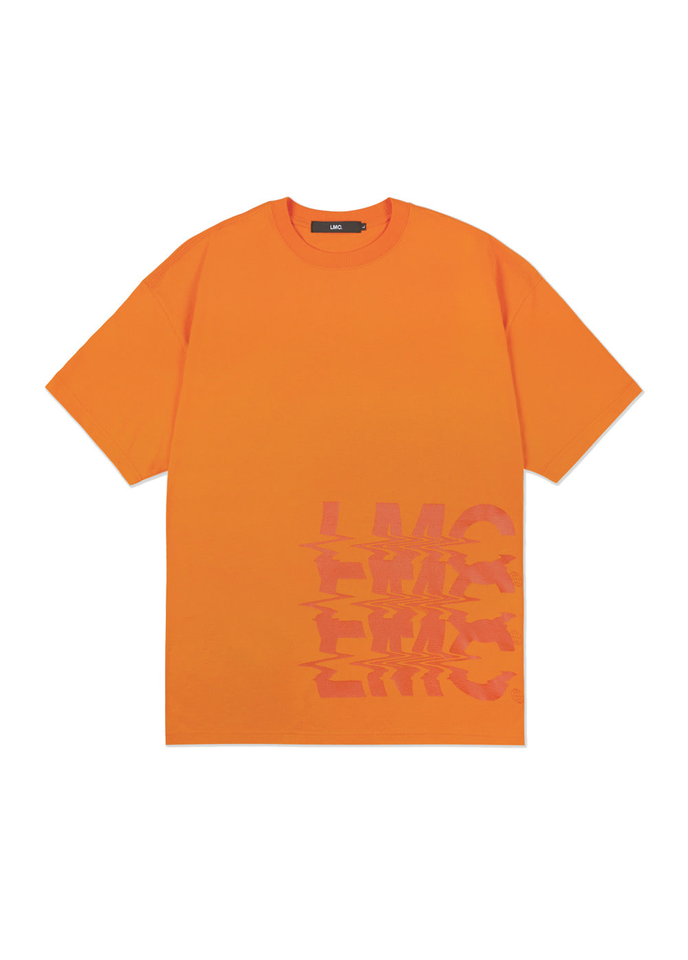 LMC NOISE OVERSIZED TEE orange
