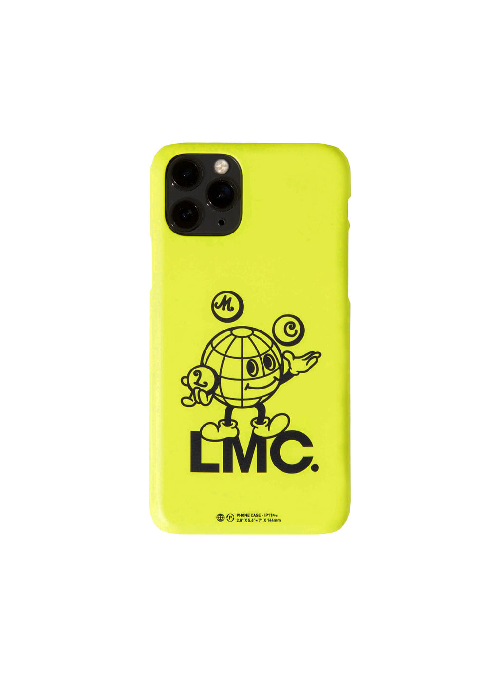 LMC EARTH MAN IPHONE 11 PRO HARD CASE lime