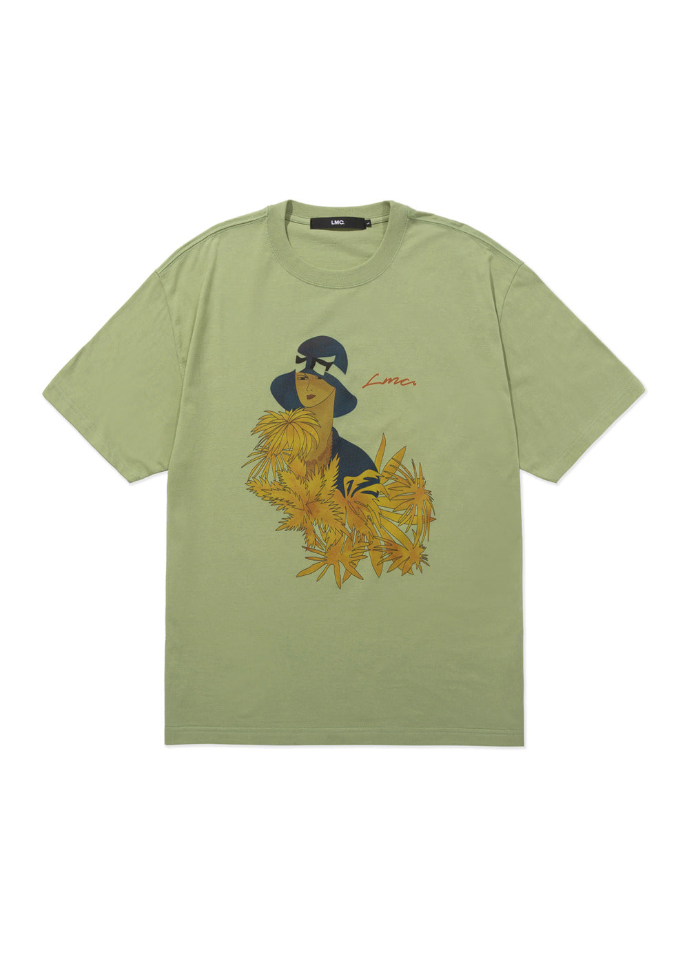 LMC NOBLE TEE lt. green