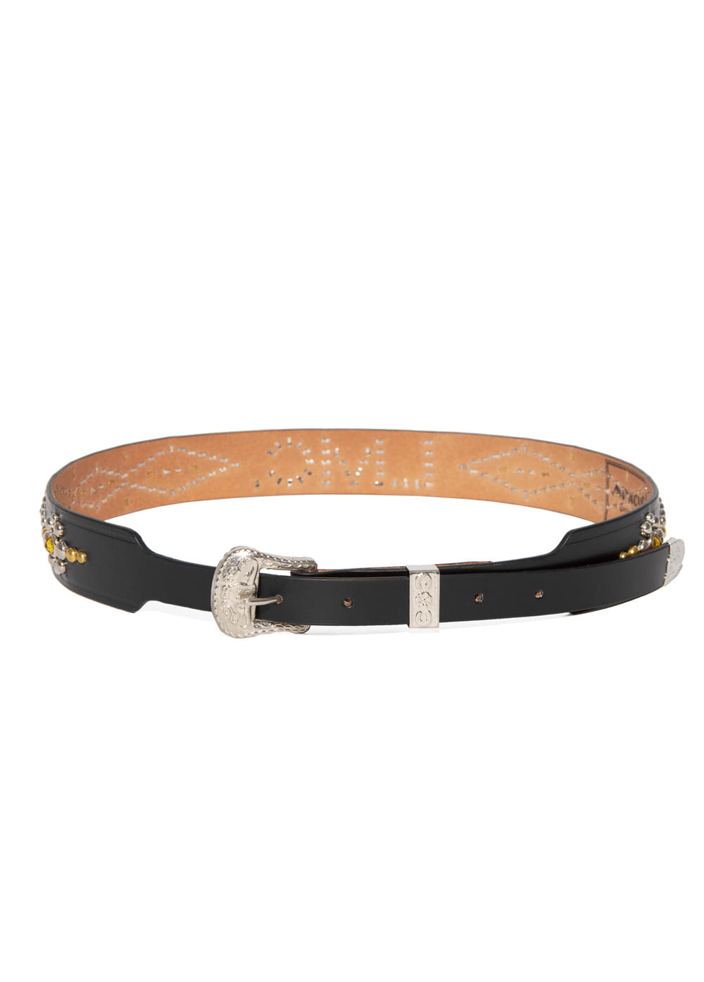 LMC APACHE DRESS STUDDED BELT black