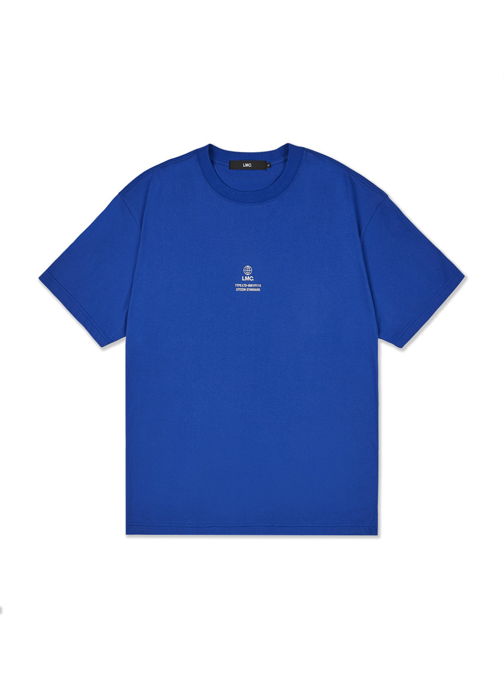 LMC MINI GLOBE TEE royal blue
