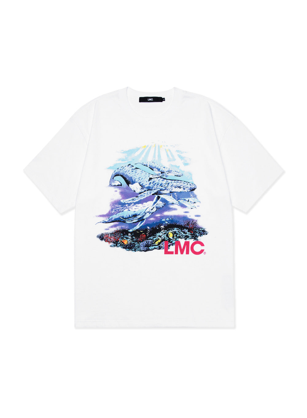 LMC SEAWORLD TEE white