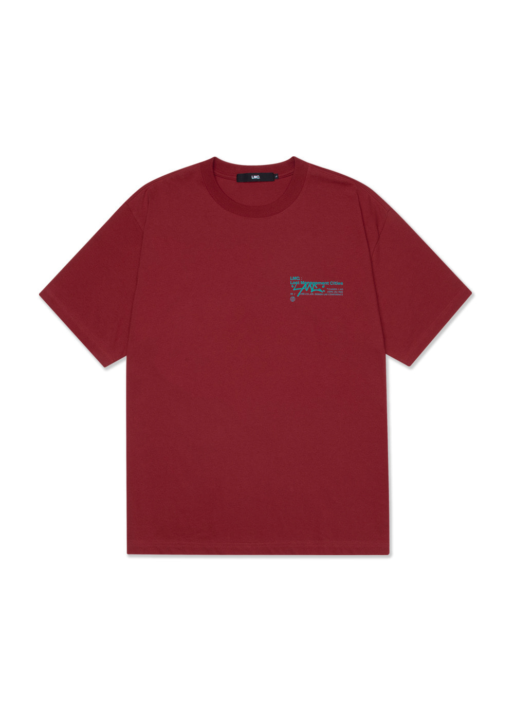 LMC SIGNATURE TEE brick red