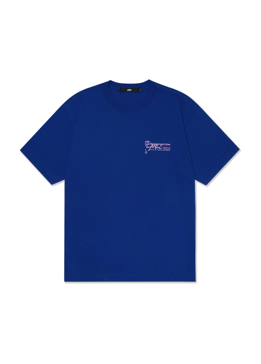 LMC SIGNATURE TEE royal blue