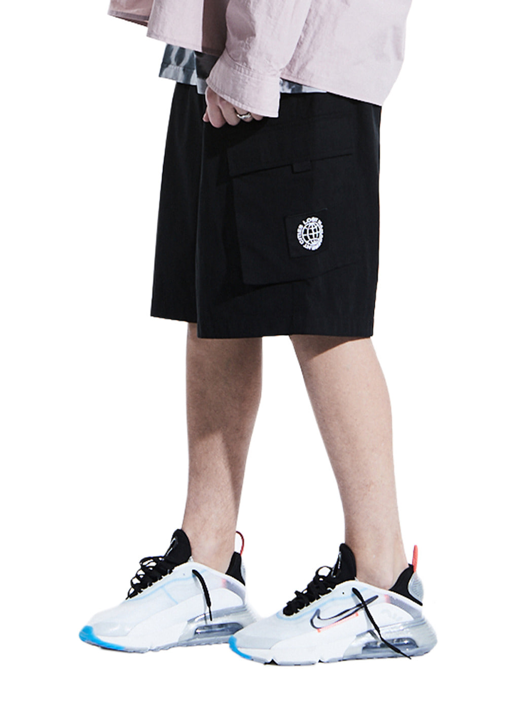 LMC WIDE CARGO SHORTS black